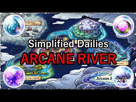 MapleStory ARK: Simplified Dailies Part 1 of 2 (Arcane River)