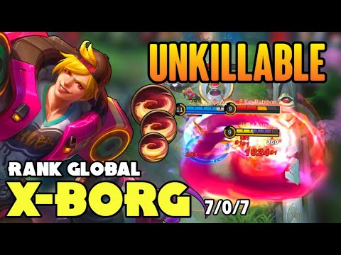 Download 100% UNKILLABLE! XBORG BEST BUILD 2021 | TOP GLOBAL XBORG GAMEPLAY | MOBILE LEGENDS✓