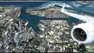 FSX HAWAII Honolulu International scenery