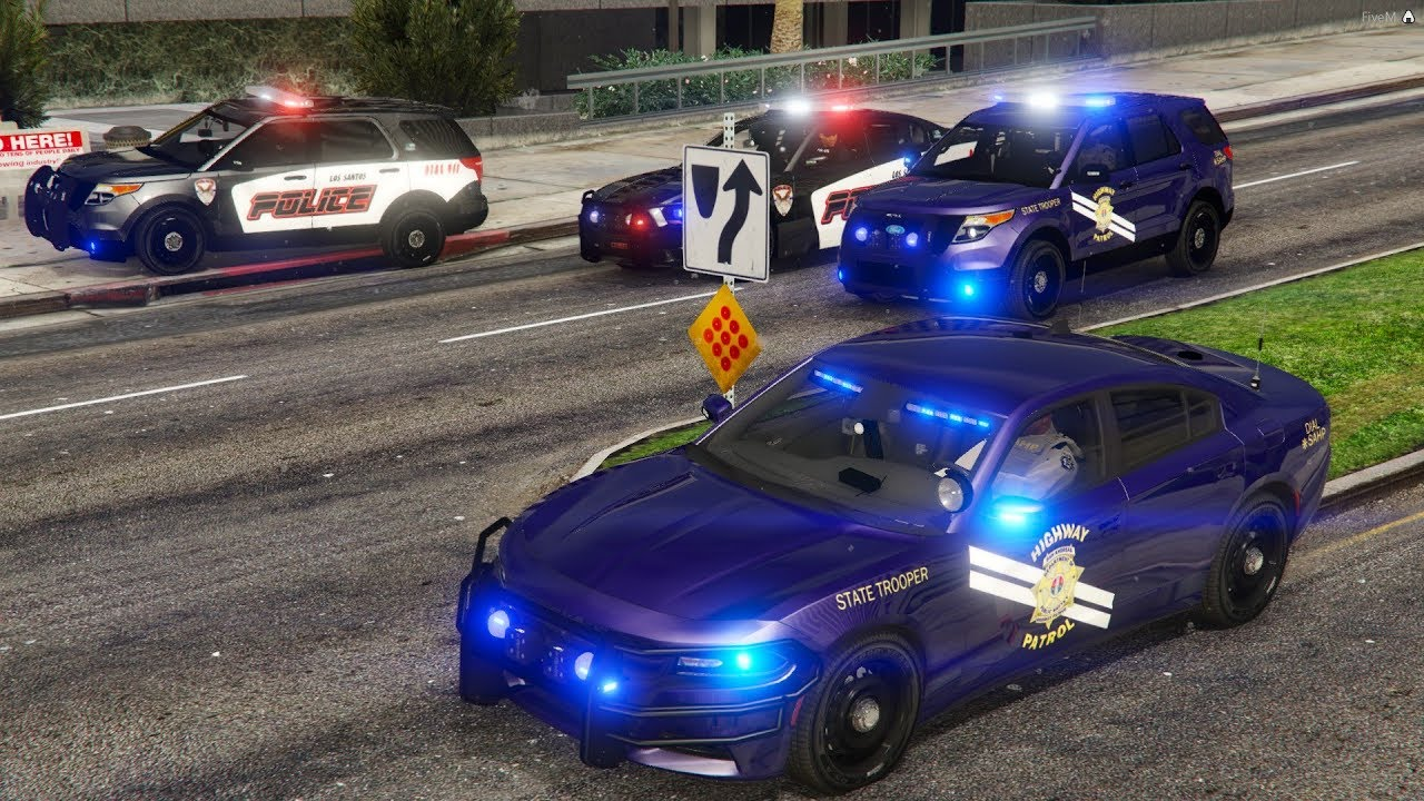 GTA 5 FiveM Police Roleplay - Working Jobs,Armed Robbery,Street Racing &  More KUFFS Multiplayer #256