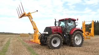 Awesome! Tractor Loader Transformer. Mega Bale Spear and Bale Fork