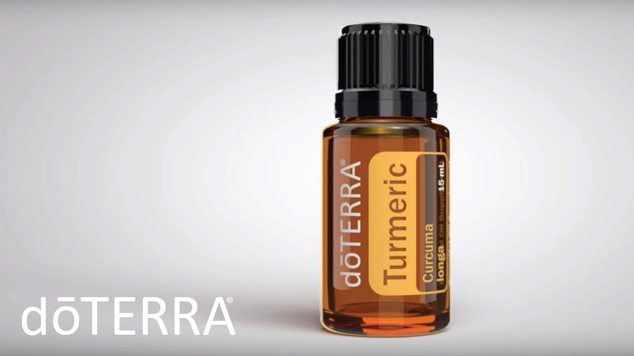 doTERRA's New Turmeric Oil Benefits and Uses- doTERRA Turmeric Essential Oil