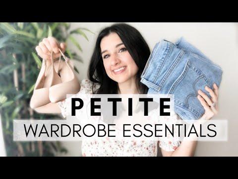 PETITE Wardrobe Essentials! / Essentials Every Petite NEEDS! / Petite Style Tips