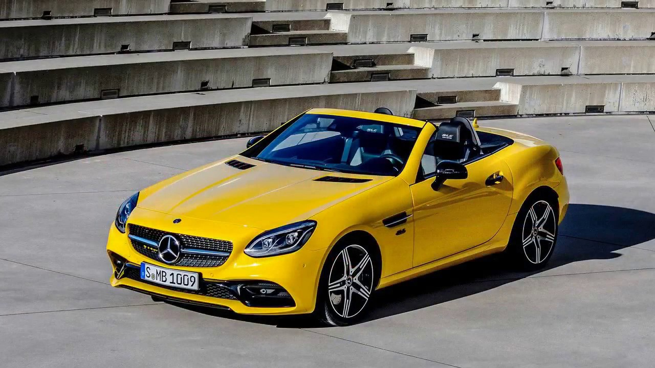 2020 Mercedes Slc Final Edition Debuts As Roadster S Colorful Finale