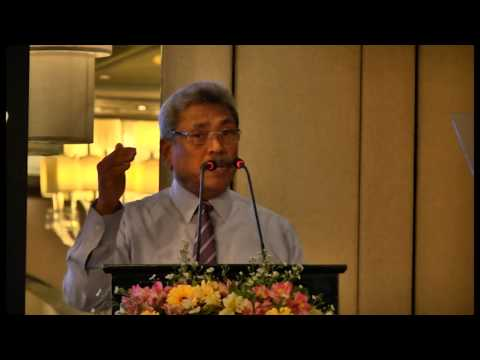 Gotabaya Rajapaksa Secretary- Ministry of Defence & Urban Development at Momentum 2014 (Part2)