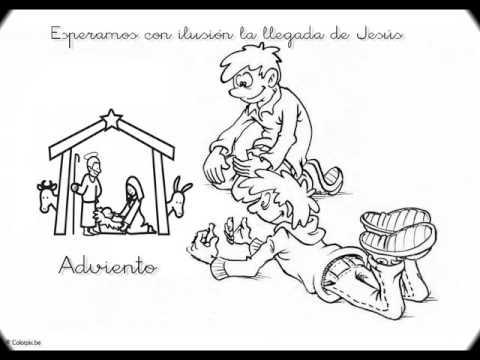 dibujos religiosos para colorear