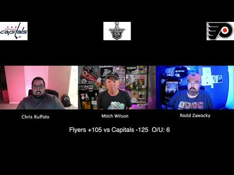 Philadelphia Flyers vs Washington Capitals 8/6/20 NHL Pick and Prediction Stanley Cup Playoffs