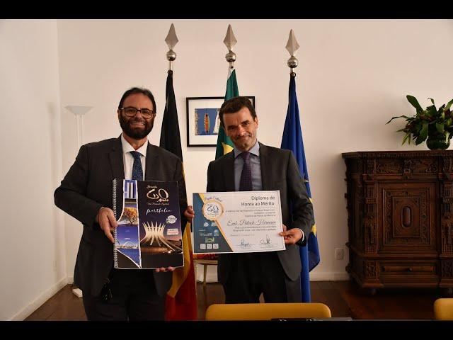 Entrevista com o Embaixador da Bélgica Patrick Herman