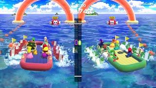 Super Mario Party - MiniGames – Rosalina vs Waluigi vs Daisy vs Luigi