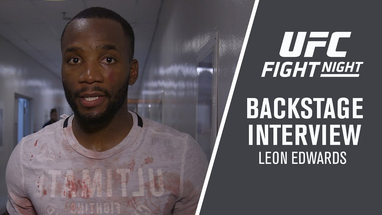 Fight Night Singapore: Leon Edwards - 'I'm Not Slowing Down For Nothing'