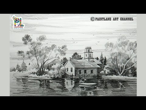landscape-drawing-for-beginners-with-simple-pencil-strokes