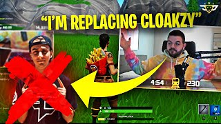 TFUE IS MY NEW DUO PARTNER?! I'M REPLACING CLOAKZY (Fortnite: Battle Royale)
