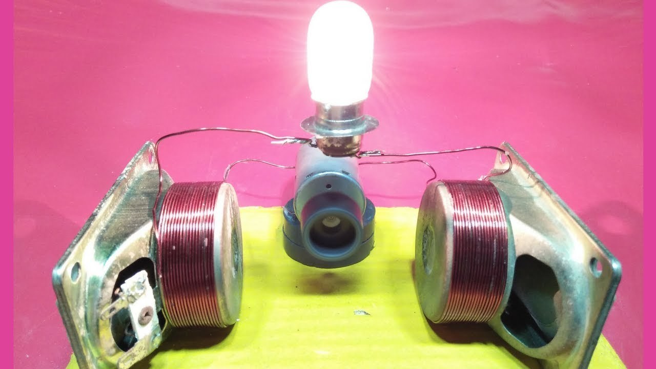 Making Electricity From Magnets Project Great Installation Of Motor Generator How To Make Free Energy With Magnet Speaker Rh Youtube Com And Magnetism