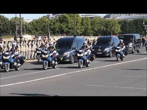Hommage National Aux Deux Commandos :Cédric De Pierrepont Et Alain Bertoncello
