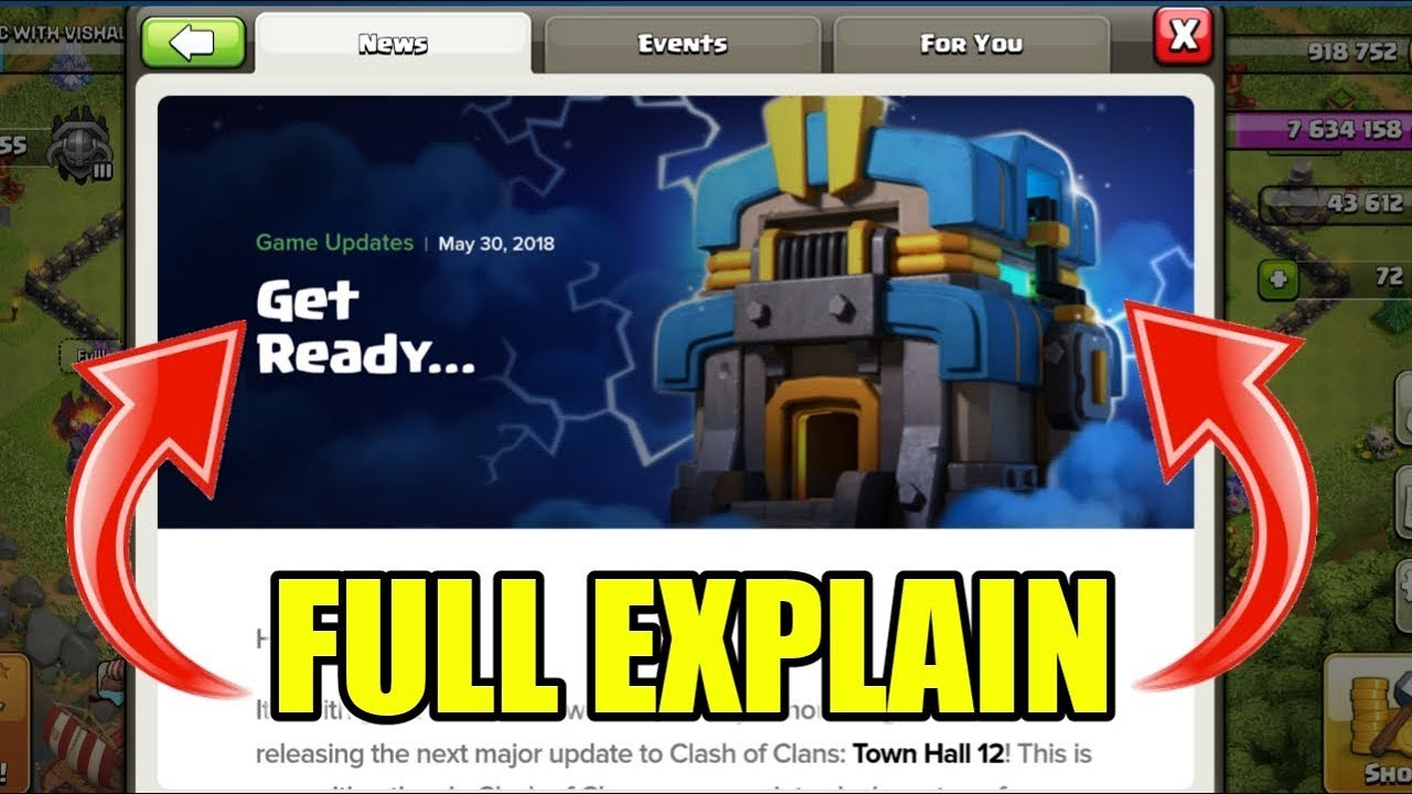 Townhall 12 Giga Tesla Full Explain ! Clash of Clans