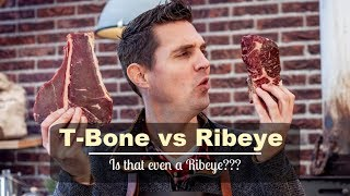 T-Bone vs Dry aged Ribeye Steak
