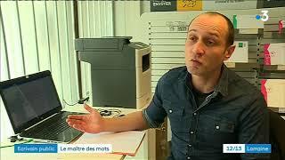Metz : un écrivain public au bureau de poste