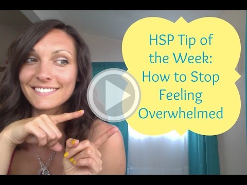 how to stop being highly sensitive