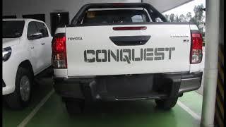 Toyota Hilux Conquest 2018