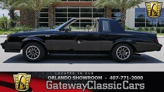 1984 Buick Grand National Gateway Orlando #1208