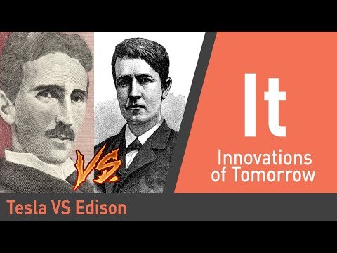 Why Tesla and Edison Had An Infamous Rivalry | American Titans