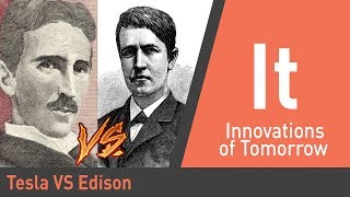 From youtube.com: Nikola Tesla and Thomas Edison