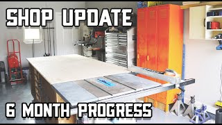 Shop Update -  6 Month Progress!