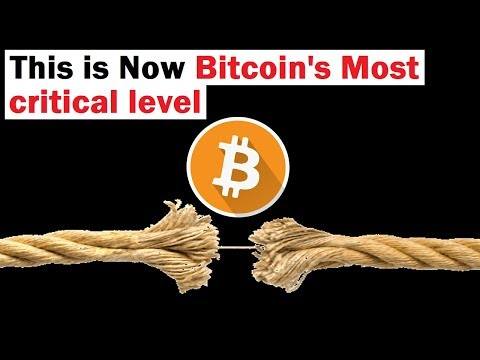 This Is Now Bitcoin's Most Critical Level