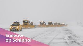 Sneeuw op Schiphol ❄