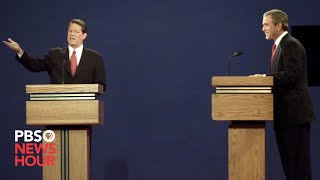 Bush vs. Gore: The first 2000 presidential debate