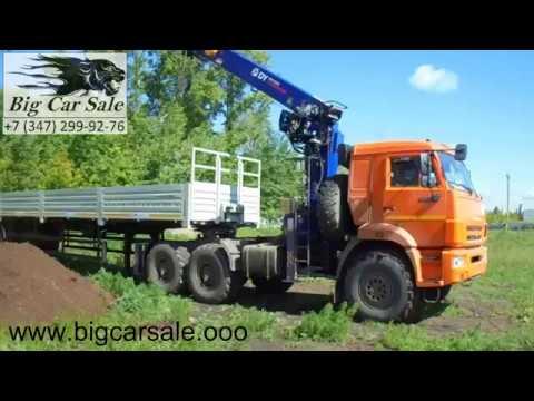 Седельный тягач с КМУ DONGYANG SS1926 на шасси КАМАЗ 43118