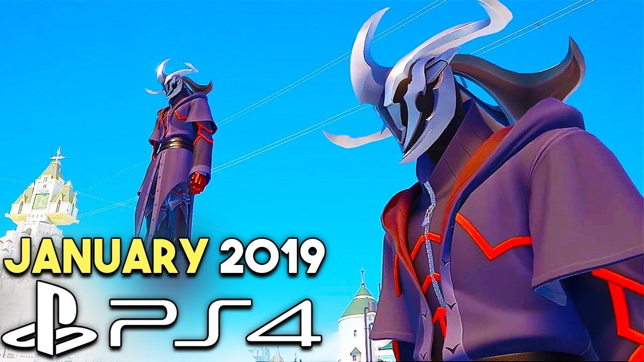 Gameplay Of The New Ps4 Games Releases January 2019