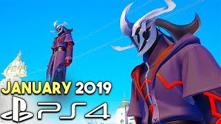 Gameplay of the New PS4 Games Releases January 2019 (Upcoming Games 2019)
