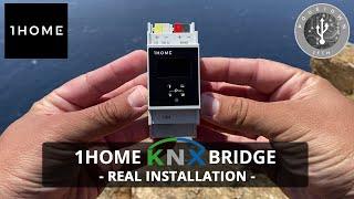 1home Knx Bridge   Real Installation