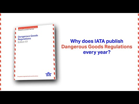 Why is the IATA DGR published every year?