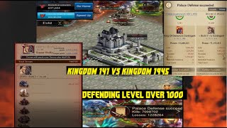 Clash Of Kings - DEFENDING 19 STRONG SUPER RALLIES ON THRONE, PART I