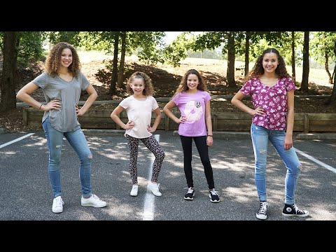 MattyBRaps  Blue Skies Haschak Sisters Dance Tutorial