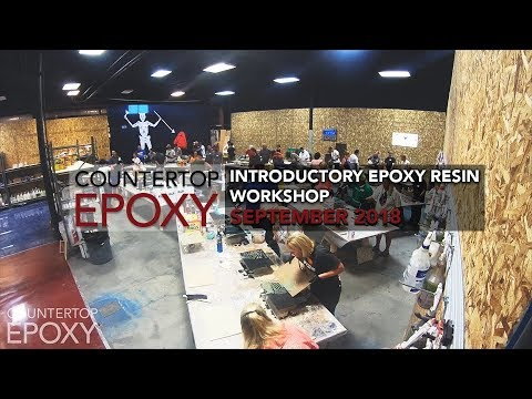 Introductory Epoxy Resin Workshop - 4 Day | September 2018