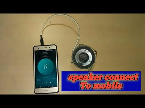 Speaker connect to