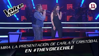 The Voice Chile | Cristobal y Carla - Someone like you