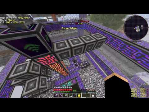 "Minecraft HQM ""Project Ozone"" #47 - Kwiat craftingowy AE"