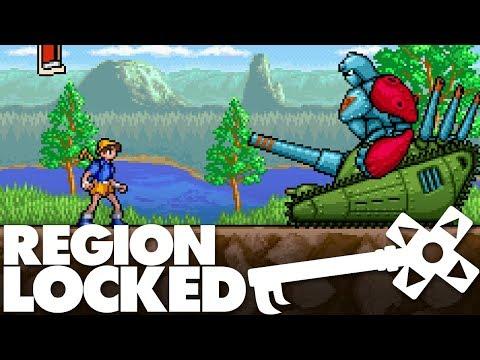 Japan's Weird SNES Game: Holy Umbrella - Region Locked Feat. Greg