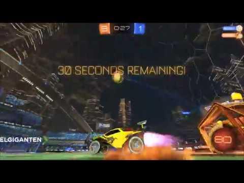 [Rocket League] Copenhagen Flames winning match vs CreateNewTeam in ProRivalryLeague #14