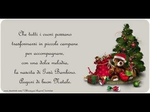 Saluti Di Buon Natale.Auguri Di Buon Natale Youtube