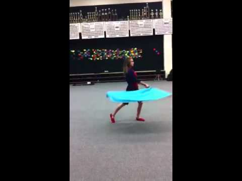Best color guard routine ever.
