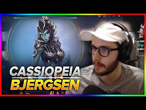 745. Bjergsen - Cassiopeia vs Yasuo Mid | Patch 8.24 PreSeason 9 - December 12th, 2018
