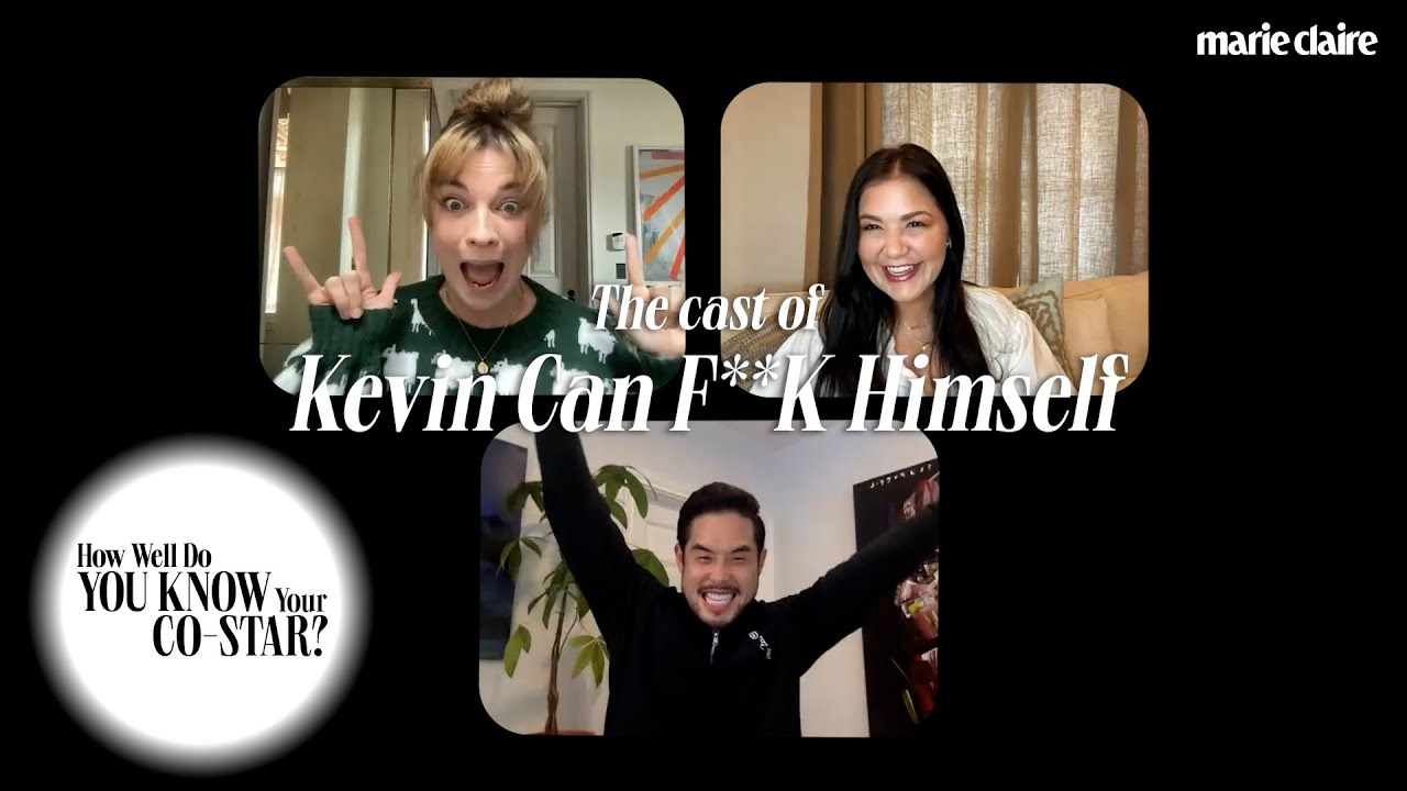 The Cast of 'Kevin Can F**K Himself' Plays 'How Well Do You Know Your Co-Star?' | Marie Claire