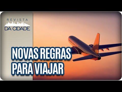 Novas regras para Viajar de AVIÃO - Revista da Cidade (12/01/17)