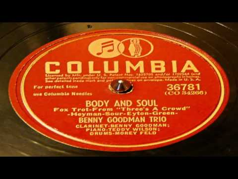 Body And Soul - Benny Goodman Trio (Columbia)