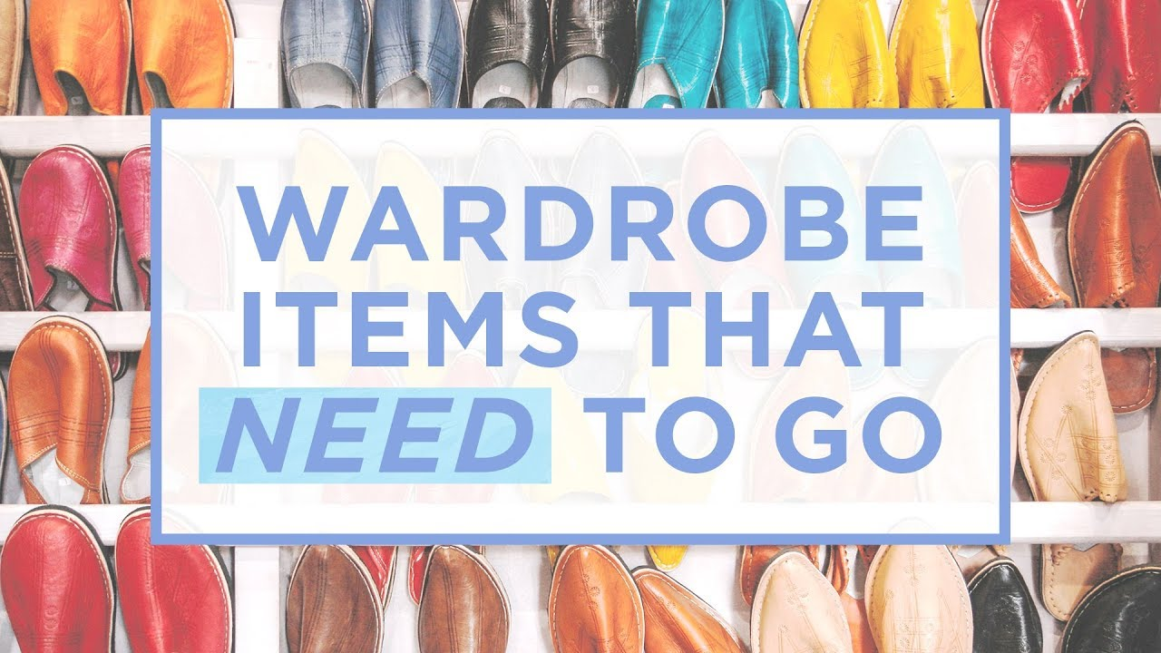 7 Things You Should Purge From Your Closet Right Now | The Lifestyle Fix